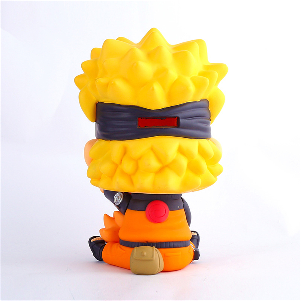Classic Anime Naruto Piggy Bank Uzumaki Naruto Small Change Box Baby  Healthy Toys Q Version Kawaii Action Figures Kids Toys -in Action & Toy  Figures from ...