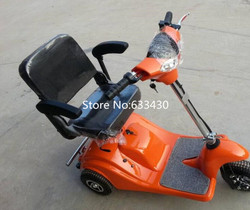Electric scooter 3 koła dla starszej electric scooter dla niepełnosprawnych podwójne rozliczeń celnych i obejmują celnej opłata w Skutery elektryczne od Sport i rozrywka na