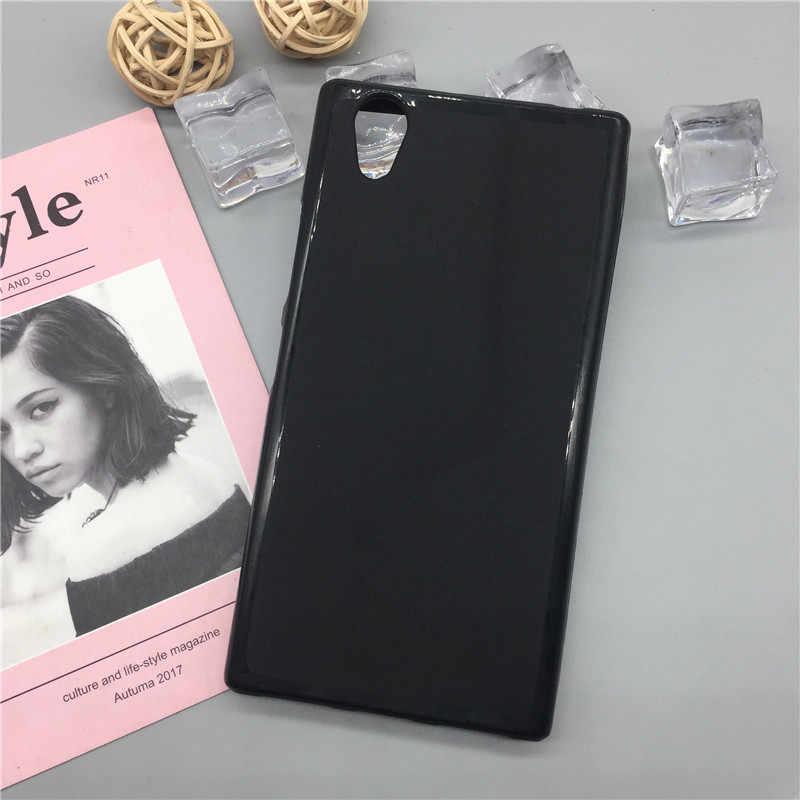 Voor Lenovo P70 P70T P70-T Case Zachte Siliconen Tpu Shockproof Black Mobiele Telefoon Tassen Pop Gevallen Cover Voor Lenovo P70