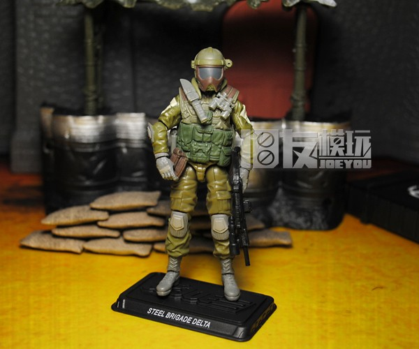 Unique 10CM High Classic Toy Movable GIJOE Steel Brigaoe Delta diver VAMP action figure Toys