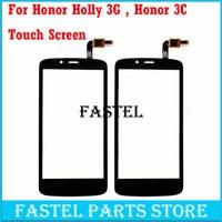 Para huawei Honor Holly 3G Honor 3C Jogar HOL-U10 Hol-T00 Hol-U19 HOL U19 digitador Do Painel Frontal da Tela de toque Exterior vidro