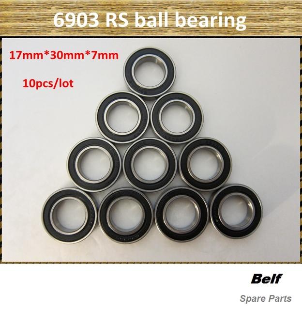 10pcs/lot, rc car spare parts,6903 RS  ball bearing 17mm*30mm*7mm, free shipping