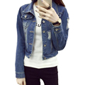 New Plus Size XXL Denim Jacket Women 2017 Spring Fall Short Jeans Jacket Women Fashion Hole Woman Coat casacos femininos