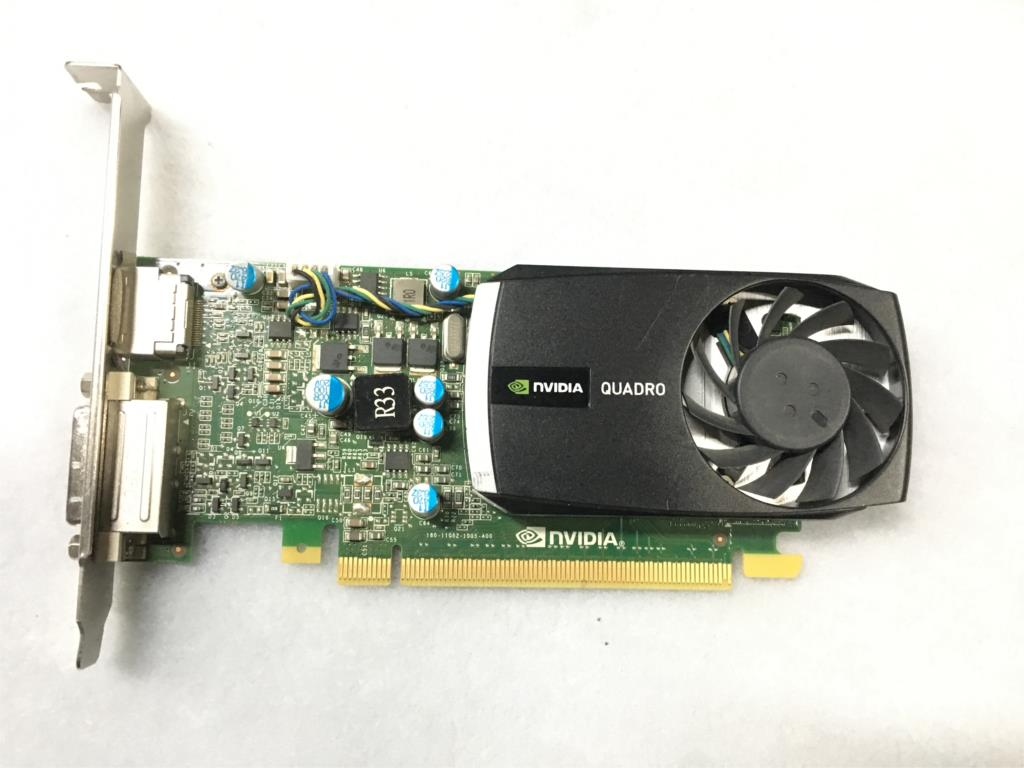 Original QUADRO 400 Q400 512M Professional Graphics Card