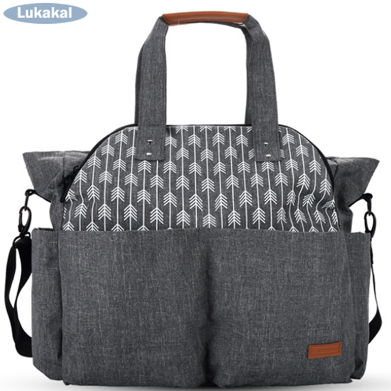WaterProof Maternity Mummy Bag for Baby Nappy Bag Diaper bag Stroller Organizer Multifunctional Baby Nursing Bag For Baby Care цена