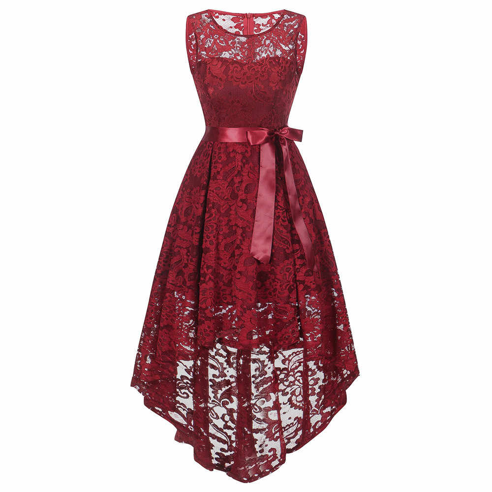 e3d5c60a2 2019 Women Vintage Lace Dress Blet Sleeveless Dress Ladies Elegant Dresses  Women Clothes Summer Party Vestidos