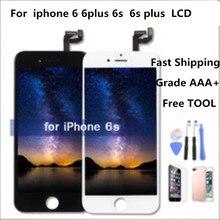 AAA 6 Artı Için iPhone 6 Için LCD Ekran Tam Meclisi 6 s Ekran Dokunmatik Ekran Değiştirme ekran Hiçbir Ölü piksel