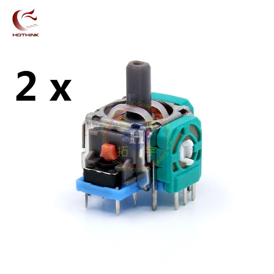 HOTHINK 2pcs/lot Right / Left Joystick 3D Analog Stick Sensor for Playstation 4 PS4 Controller Dualshock 4 repair part