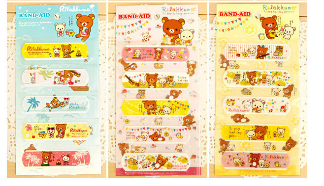 25PCS/Lot Waterproof Bandage Cute Cartoon Band Aid For Children 8*2.5CM Wound Paste Plaster Cartoon Medical Bandage Freeshipping