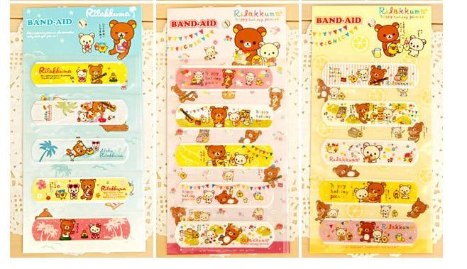 25PCS/Lot Waterproof Bandage Cute Cartoon Band Aid For Children 8*2.5CM Wound Paste Plaster Cartoon Medical Bandage Freeshipping