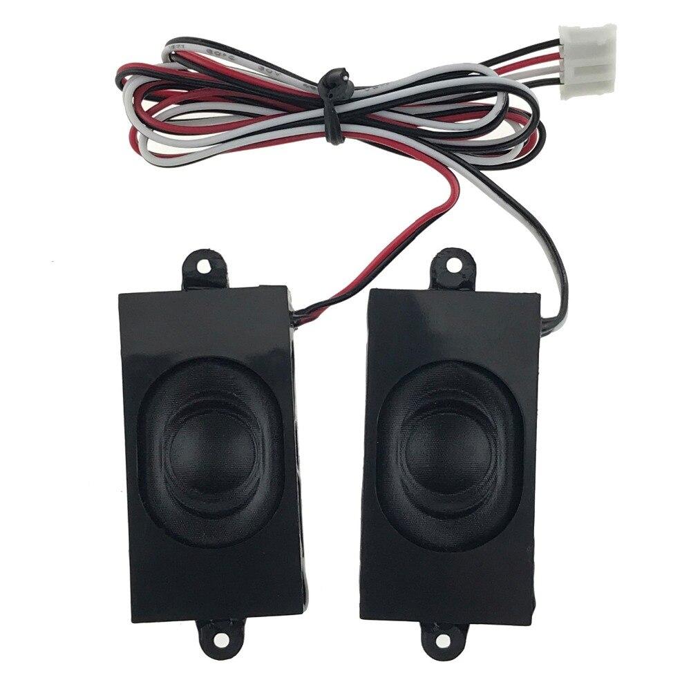 (2pcs/lot) 2W 2Watt 8 Ohms 8R 41*21*8.5MM Multimedia Speaker For Advertising Machine With Wire Embedded Mini Box Speaker