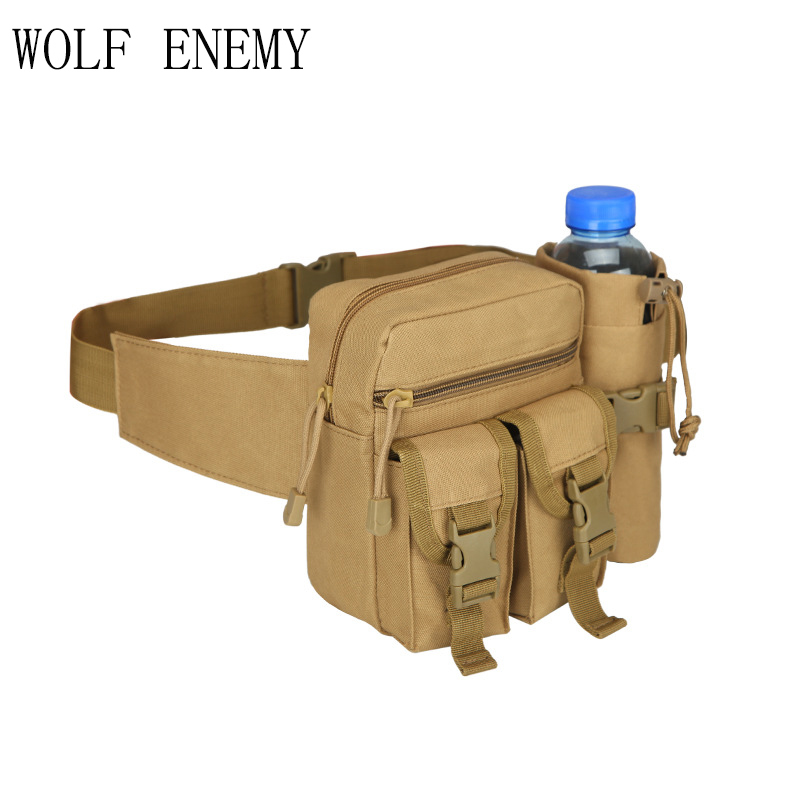Tactical Molle Bag Hip Packs Waist Bag Fanny Pack Hiking Fishing Sports Hunting