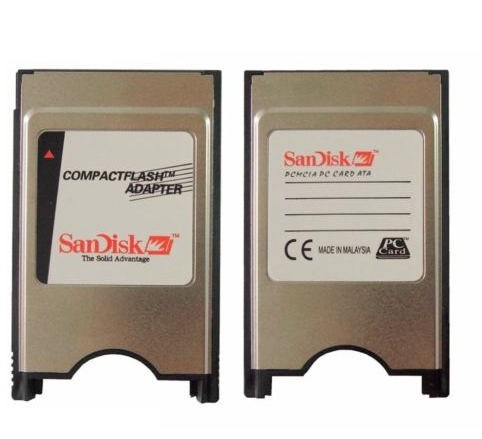 CF Card Compact Flash Card Adapter PCMCIA Memory Card-in Memory Cards