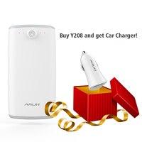 Арун Y208 20000 мАч Универсальный Запасные Аккумуляторы для телефонов внешний Батарея Резервное копирование USB телефон Зарядное устройство Пор...