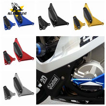 Engine Crash Pad Anti-Stop Profile Cover Slider Protector Frame Guard For BMW S1000RR HP4 2010-2016 S1000 RR CNC Aluminum motorcycle cnc aluminum engine cover frame sliders bolts crash protector parts firt for bmw 2009 2010 s1000rr 2011 2012