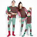 Мода Рождество Взрослых Детей Семьи Рождественских Пижамы Пижамы Пижамы Пижамы Одежда Наборы
