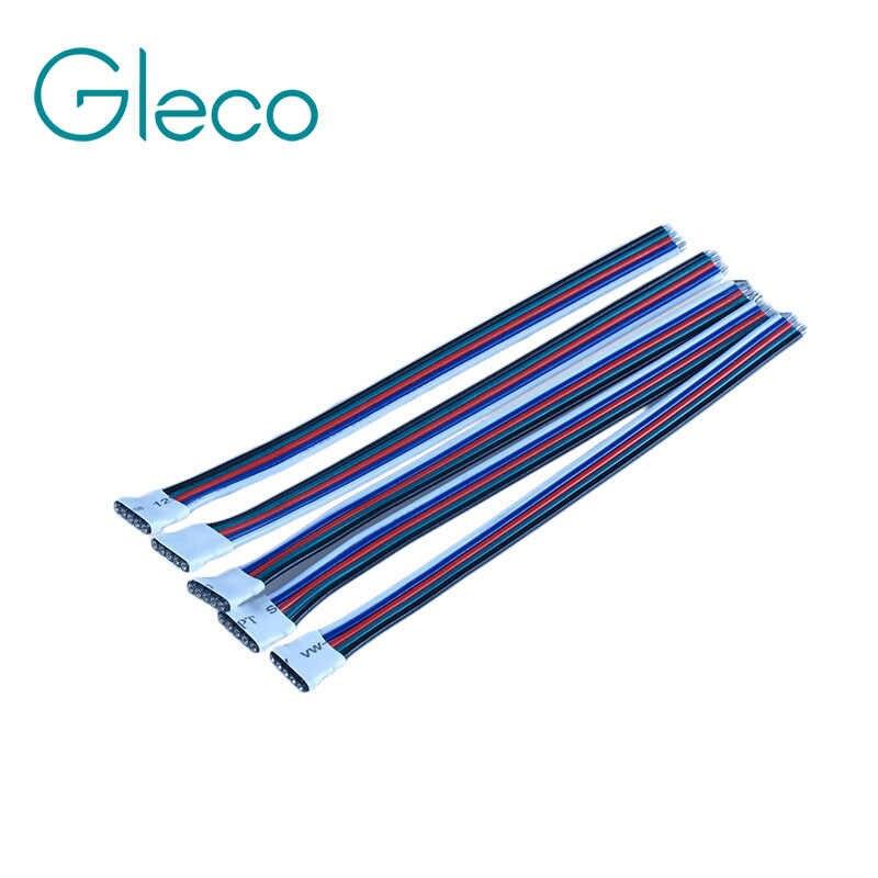 5 pcs/Lot 5pin RGBW Femelle led connecteur câble 10 cm pour 5050 RGBW RGBWW bande led