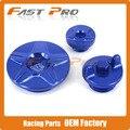 Синий Двигатель Крышки Грм Масляный Фильтр Комплект Заглушек Для YZ250F YZ450F YZF250 YZF450 14-16 YZ250FX 15 16 WR250F 15 Байк Offroad