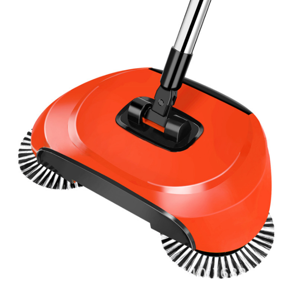 Stainless Steel Sweeping Machine Push Type Hand Push Magic Broom Dustpan Handle Household Cleaning Package Hand Push Sweeper MopStainless Steel Sweeping Machine Push Type Hand Push Magic Broom Dustpan Handle Household Cleaning Package Hand Push Sweeper Mop