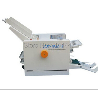 Brand New Automatic Paper folding machine Paper Folder Machine ZE-9B/4 4 Fold plate