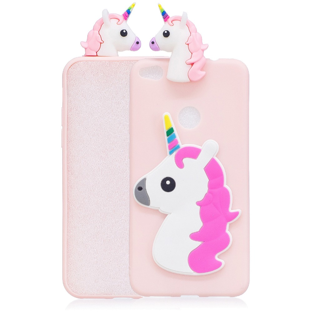 unicorn panda case for huawei p9 p8 lite 2017 case fitted cases for coque huawei y5 y9 2018 mate