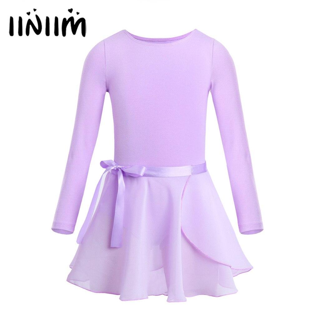 teen-girls-long-sleeves-font-b-ballet-b-font-dancing-gymnastics-leotard-bodysuit-with-chiffon-tied-skirt-for-performance-classical-dresses