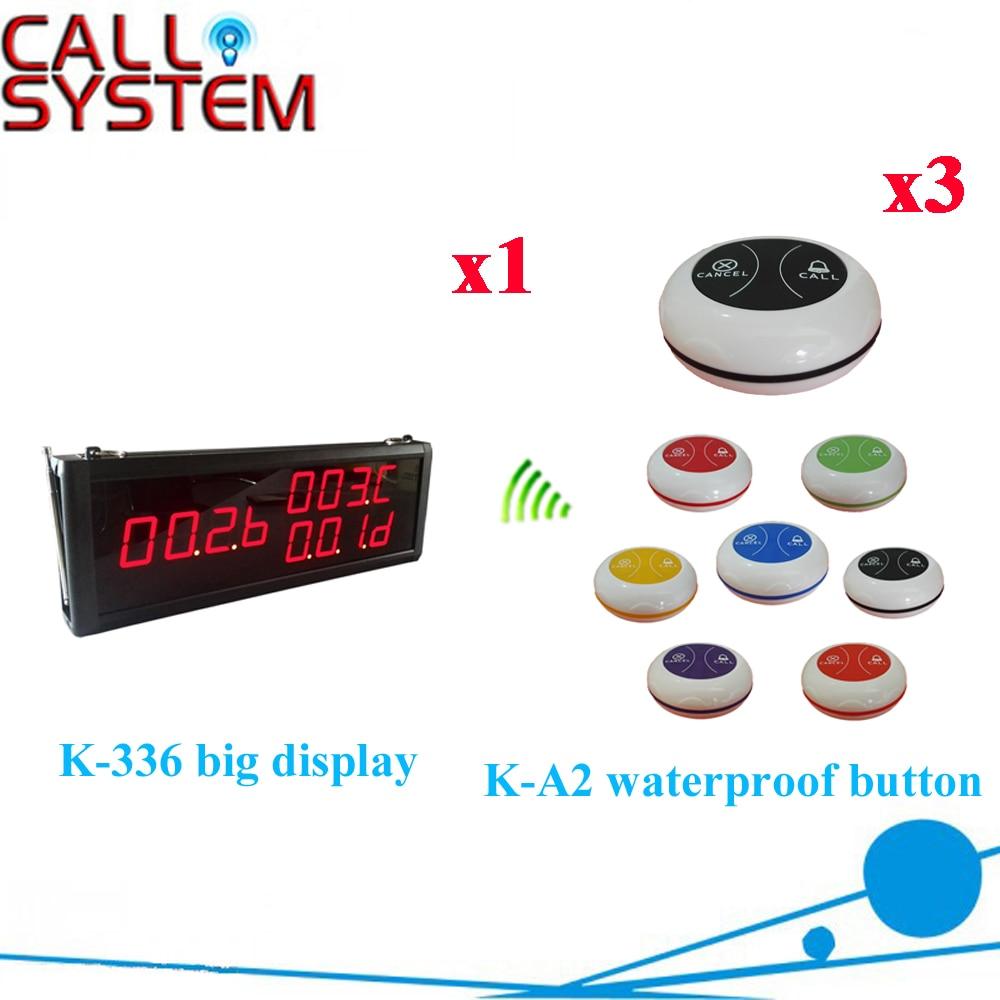 Best Price 433.92MHZ Wireless Waiter Call Bell System Restaurant PagerBest Price 433.92MHZ Wireless Waiter Call Bell System Restaurant Pager