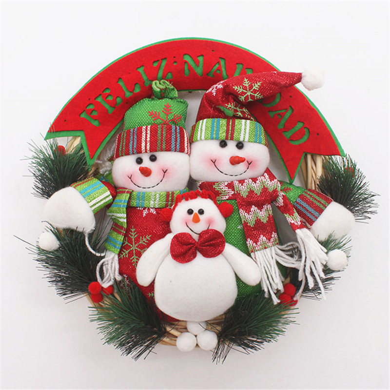 Online get cheap christmas door cover for Cheap xmas decorations