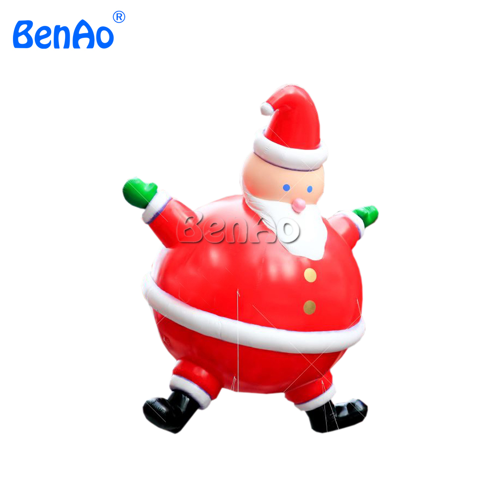 AO224 Free shipping PVC giant inflatable christmas santa and Stocking, giant Parade Helium Balloon, Big Santa Balloon christmas ao382 inflatable helium sun inflatable parade balloon giant inflatable helium sky balloon with led light for parade
