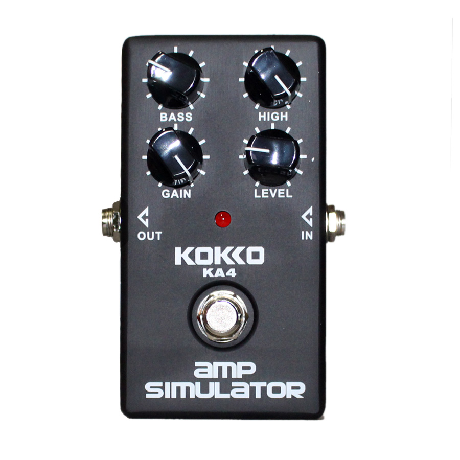electric guitar amp simulator distortion effects pedal simulator distortion and cabinet of a