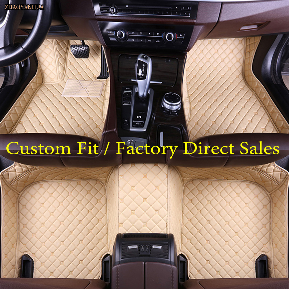 ZHAOYANHUA floor liners for Audi A3 A4 A5 A6 allroad A7 A8 A8L Q3 Q5 Q7 5D waterproof all weather carpet 5D car floor matsZHAOYANHUA floor liners for Audi A3 A4 A5 A6 allroad A7 A8 A8L Q3 Q5 Q7 5D waterproof all weather carpet 5D car floor mats