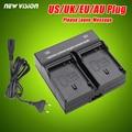 Dual channel carregador de bateria para sony np-fv100 fv70 fv50 fv30 fh100 fh70 fh50