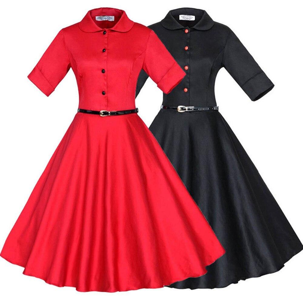 Платья 60-х с рукавом