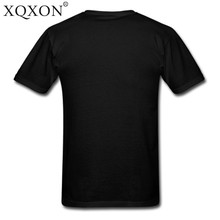 XQXON summer cotton Short Sleeve men t-shirt Death Note pullover o-neck t shirt funny man t shirt tops Free Shipping D75