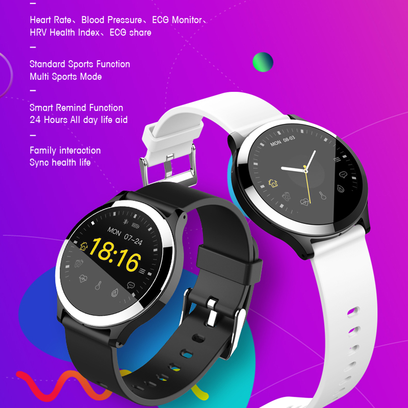 2019 New Smart Bracelet Band With Heart rate Monitor ECG Blood Pressure IP67 Fitness Tracker  Smart Watch For Android IOS2019 New Smart Bracelet Band With Heart rate Monitor ECG Blood Pressure IP67 Fitness Tracker  Smart Watch For Android IOS