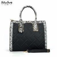 Sally Young International Brand Designer Diamond Lattice Fashion Women Bags Classic Zipper Hasp Lady Handbags 5
