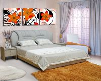 Canvas Art Big Flowers Pictures On The Bedroom Wall Decoration Wall Painting Modern Pictures For Friends