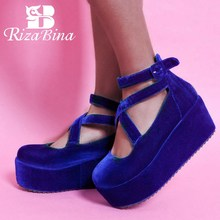 цены CooLcept free shipping high heel wedge shoes women sexy dress footwear fashion pumps P10855 EUR size 34-39