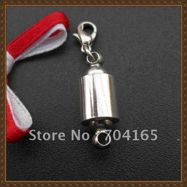 free shipping wholesale and retail  rhodium pleted magnetic Clasps CH10237A  50pcs/lot