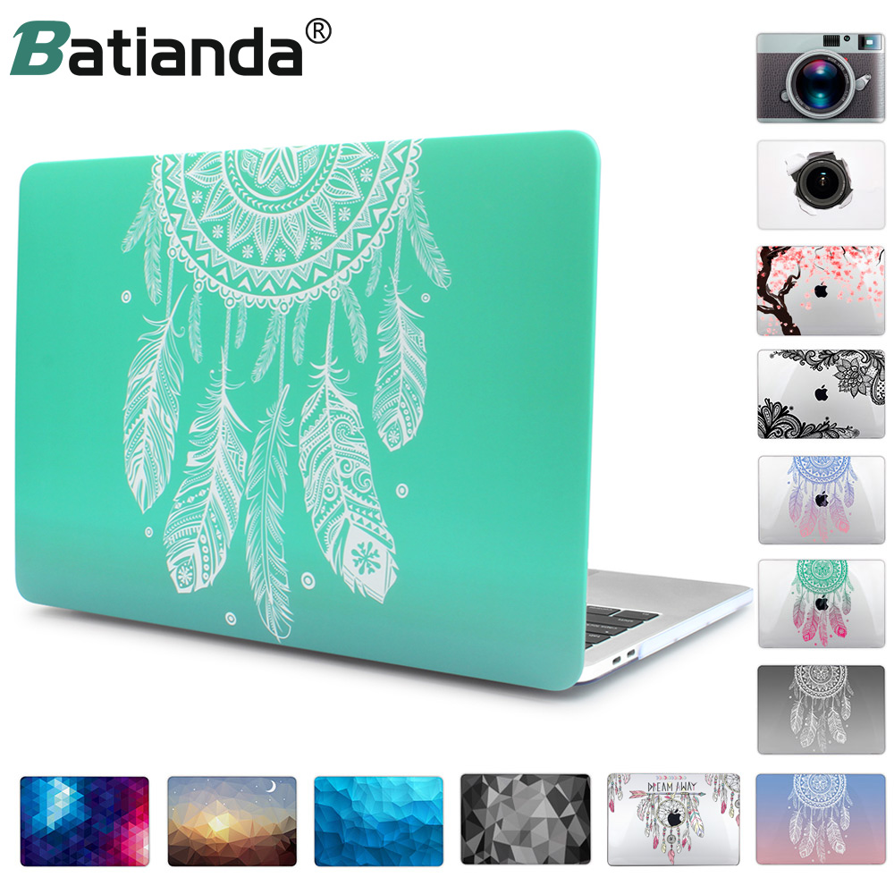 For Macbook Pro 13 15 Retina with Touch Bar New Release 2018 A1989/A1707/A1990 Beautiful Dream Catcher Air 12 11.6 13.3 A1502 hrh high quality trackpad protector with high clear film for macbook pro 1315touch bar release on 2016 a1706 a1707 a1989 a1990
