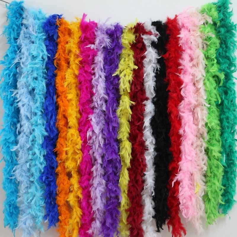 Happy Birthday Party Decorations Kids Party Supplies Turkey Feather Boa Wedding Decorations Clothing Accessories