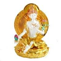 Tây Tạng Tây Tạng Phật Giáo Nữ Thần Phật Bồ Tát trang trí nội thất Tượng J2054