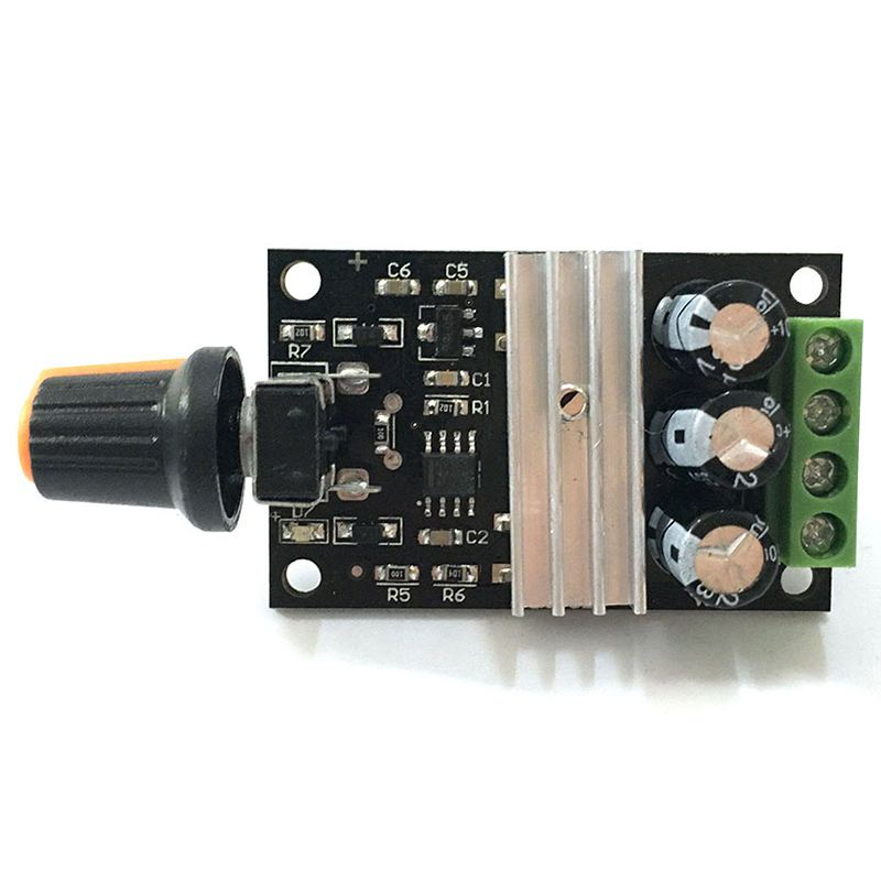 Dc Motor Sincere 1pcs Dc Brush Motor Speed Controller 20a 9-60v Control Forward Reverse Switch Attractive Fashion