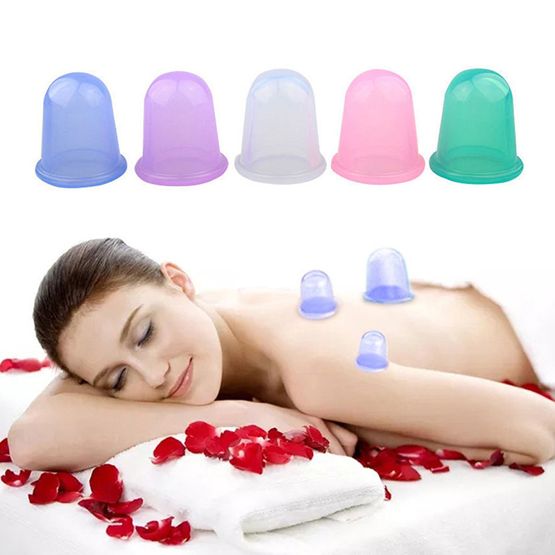 8Pcs/Set Silicone Moisture Absorber Cupping Therapy Set Facial Body Anti Cellulite Vacuum Silicone Cupping Cups Massager 30 концентрат gigi anti cellulite cocktail 8 мл