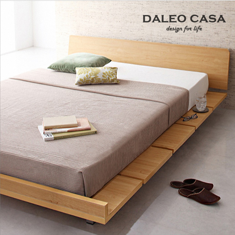 Tatami bed plate minimalist modern plate bed 1.8 m 1.5 1.2 ...