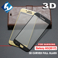 3D Curved For Samsung Galaxy A3 2017 A320 Full coverage Screen Protector Tempered glass Film Protective For A320Y A320F / FL