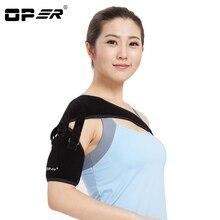 OPER Adjustable Right Left Single Shoulder Bandage Belt Support Brace Magnetic Therapy Posture Corrector Arthritis Pain