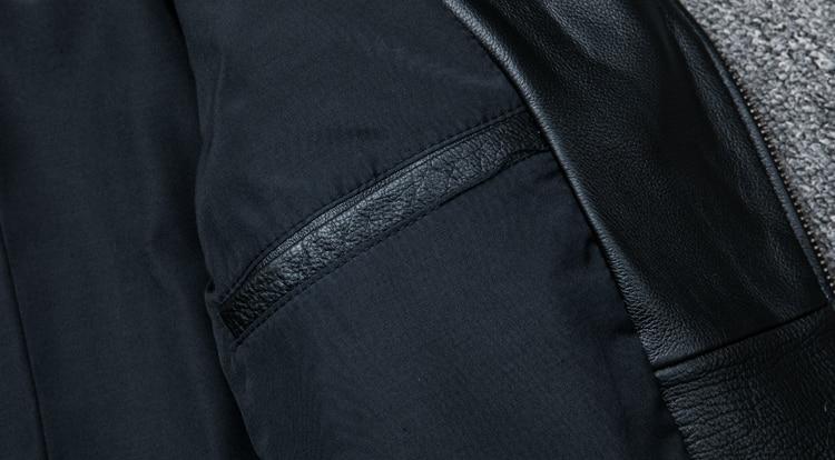 HTB1TjpdpRjTBKNjSZFDq6zVgVXaH MAPLESTEED Classical Motocycle Jackets Men Leather Jacket 100% Natural Calf Skin Thick Moto Jacket Man Biker Coat Winter M192