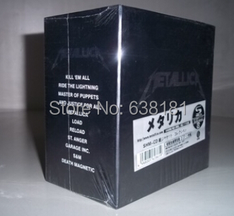 The New Original Metallica Complete Full Box Set 13 An Edition And Factory Sealed