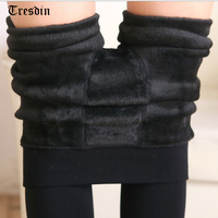 2016 Sexy Autumn Winter Fashion Women S Plus Cashmere Tights High Quality Knitted Velvet Tights Elastic